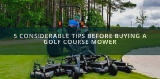 Buying Golf Course Mower