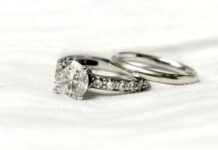 Salt and Pepper Diamond Rings