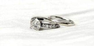 Salt and Pepper Diamond Rings